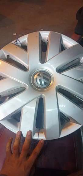 Four Wheel Caps Of Volkswagen Polo 15