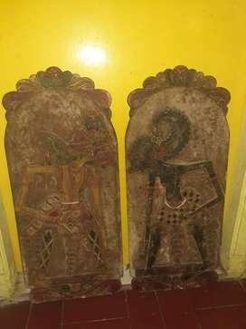 Blawong kuno motif Wayang