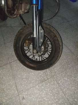 This is used bike but in good condition