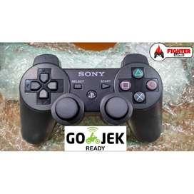 STIK PS3 Wireless Hitam - Ready GOJEK