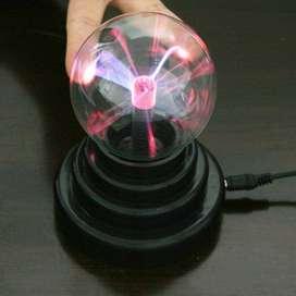 Pajangan Lampu Bola Kristal Plasma Light Sphere