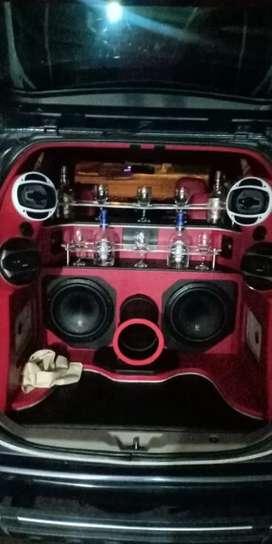 Sound system'  mobil Avanza
