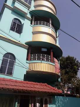 Rent of 2 bhk at birati new house 24 hours water facility