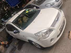Ford Fiesta with CNG on paper