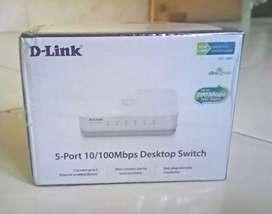 D-Link 5prt adaptor