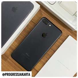 iPhone 7 Plus 128Gb Black Mulus fullset iBOX