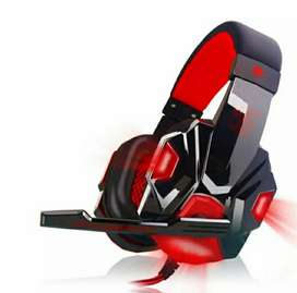 Box Packed Gaming Headphones Stock With Led lights