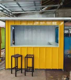 cicilan booth container untuk segala usaha,kirim se indonesia