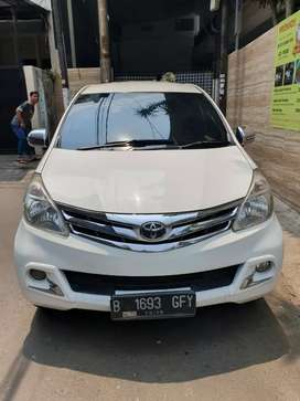 Toyota Avanza G 1.3 manual 2014