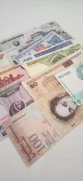 Koleksi Uang Luar Negeri 1 set