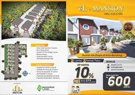 Rumah Design Ala Eropa, Bonus Smart CCTV di Cisaranten