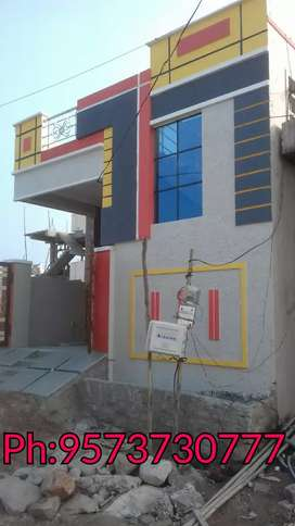 100 square North  New Independent house for sale in boduppal