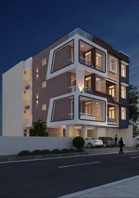 3 BHK Flats in Malviya nagar...