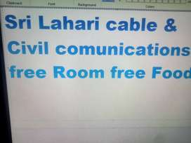 INTERNET CABLE WORK
