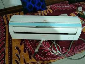 running ac it's in good condition