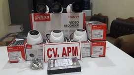 Paket CCTV DAHUA MURAH  LENGKAP PLUS PASANG DI gerogol Cilegon kota