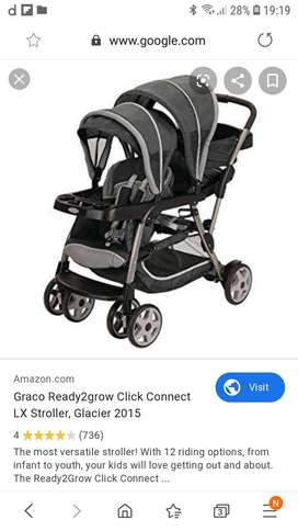 graco twin stroller ready to grow