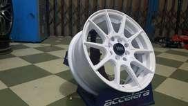 Velg Mobil Brio, Ayla RAI-S2 JA151 HSR R15X65 H8X100-114,3 ET42 WHITE
