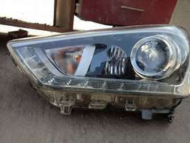 Creta car front left side head light