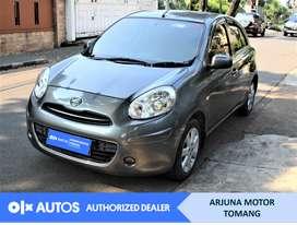 [OLX Autos] Nissan March 2013 1.2 L A/T Bensin Abu-abu #Arjuna Tomang