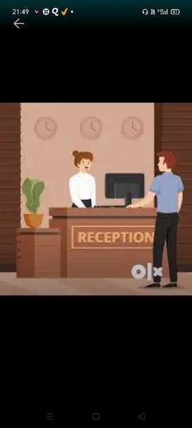 Urgent hiring in Reception(Senior HR Payal mam)No charges/No target