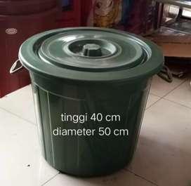 Ember air plastik 30 liter plus tutup