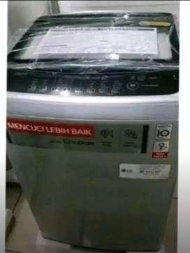 Bisa cucilan mesin cuci LG 10 menit bawa barang