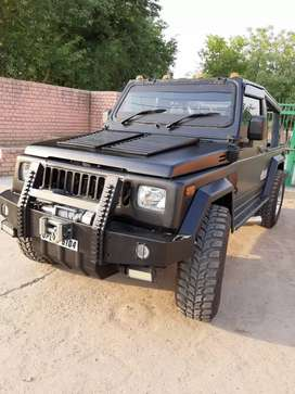 Willys Hunter open modified jeep