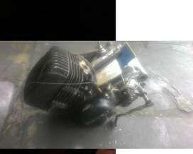 Mesin suzuki TS 125 thn 96 & mesin ninja R 2000