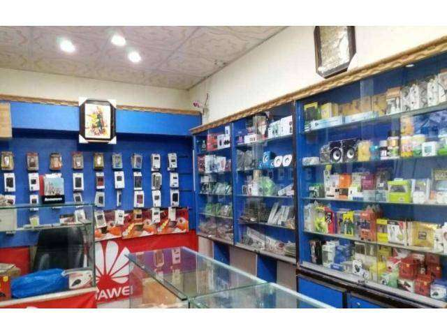 mobile shop  for rent in model town 0