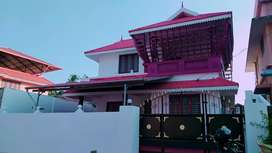 1730 sqft house in 4 cents near  palakkad koppam-calicut bypass road