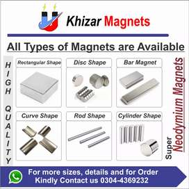 Industrial Neodymium Magnets All Sizes available at very low price