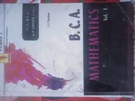 Mathematics BCA volume 1