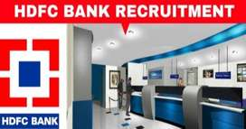HDFC Bank process hiring for KYC Verification /Data Entry Executive /