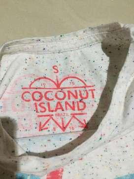 Tshirt Cew Coconut Island