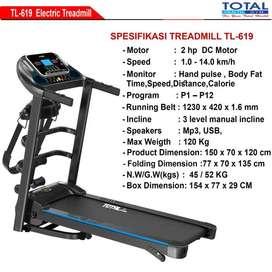Alat Olahraga Treadmill Elektrik TL 619 - Treadmill Electric