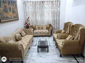 7 seater luxury sofa set with center table