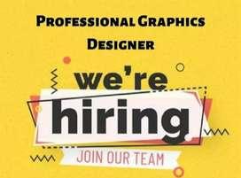 Urgent required freelance professional graphic designer