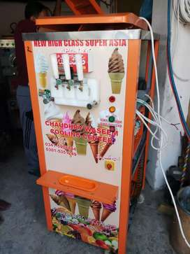 Cone ice cream machine Double Flavour New.