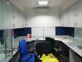 1200 sft furnished office in Somajiguda for rent