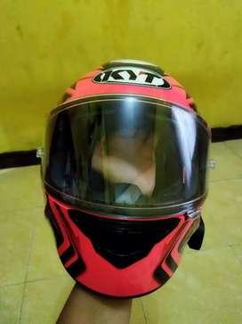 Helm Fullface KYT NFR Ratthapark Mulus Fullset