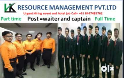 200 waiters required for 5 star hotel  no education required 0