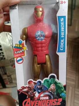 Action figure iron man baru