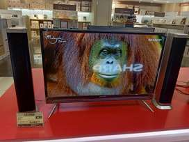 Sharp LED TV 32 inch With Speaker Tower
