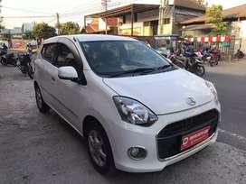 Daihatsu ayla X At 2014 putih / ayla matic