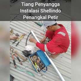 Pasang Penangkal Petir Pondok Labu Jakarta Selatan Jasa Murah Harganya