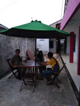 Payung jati untuk restoran. Ready stock Palembang
