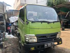 Hino Dutro 130 HD 2017 Chasis. Not Colt diesel//Not Dyna// Not Elf