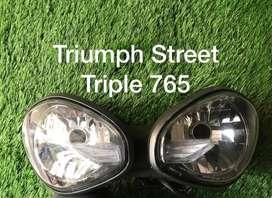 Triumph Daytona-Street Triple-Tiger 800-Street Triple 765