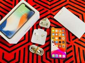 Iphone x 64 gb fullset mulus bisa tt